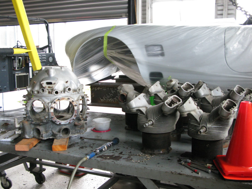 Restoring a radial engine for a new purpose  – Shmalex